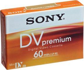 Sony DVM 60 PREMIUM Mini-DV Tape 60 Min