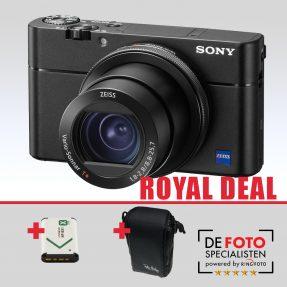 Sony Cybershot DSC-RX100 mark V Royal Deal