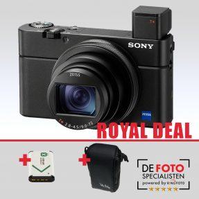 Sony Cybershot DSC-RX100 VII Royal Deal
