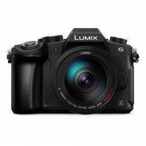 Panasonic LUMIX DMC-G80 zwart + 14-140mm HD power O.i.S. WR