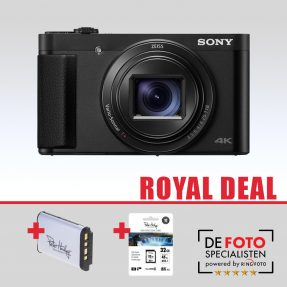 Sony Cybershot DSC-HX90 zwart Royal Deal
