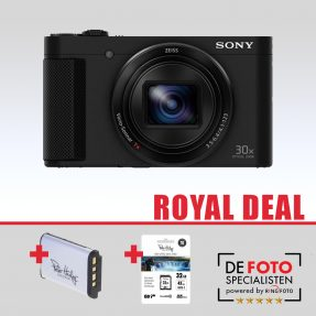 Sony Cybershot DSC-HX90V zwart Royal Deal