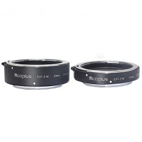 MCOPlus EXT-Z Metal Extension Tubeset 12+20 Nikon Z-mount
