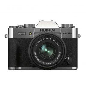 Fujifilm X-T30 II zilver + XC 15-45mm zilver