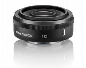 Nikon 1 Nikkor 10mm f/2.8 black